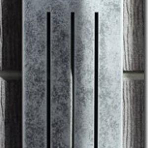 特殊塗装サイン 錆銀