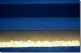 LEDノ灯りを綺麗に見せるリコストーン。